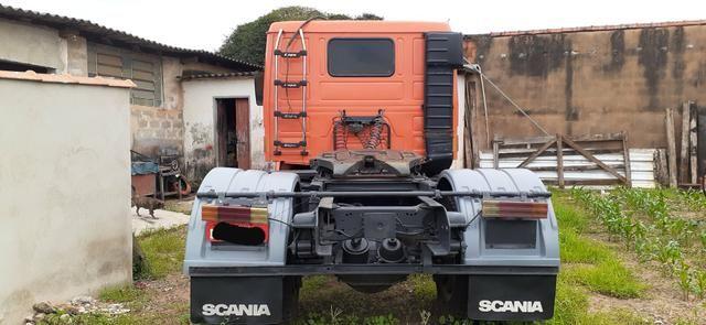 Scania 112H Laranja 1984