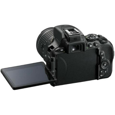 Câmera Digital Nikon D5600 Kit 18-140 VR 24.2MP gps/Bluetooth/NFC/Wi-Fi - Preto - Foto 3