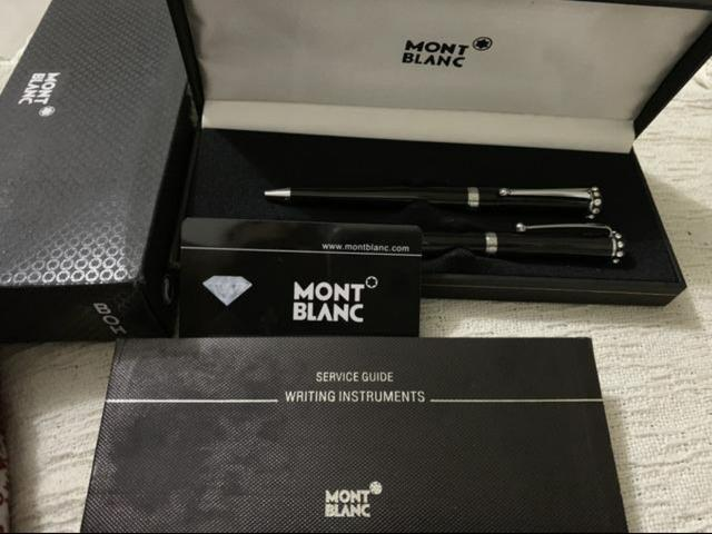 Estojo canetas Mont Blanc