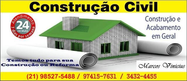 M.P Construção Civil, Reforma de Fachada, Pintor, Pedreiro, Eletricista, PVC, Gesso Todos