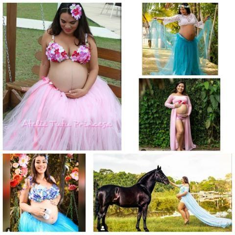 Aluguel roupas para grávidas - Foto 4