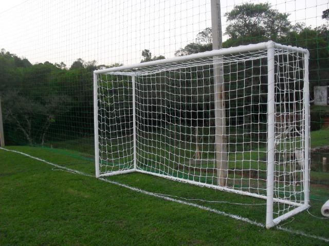 Redes de Futebol Sob Medida