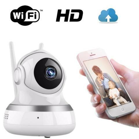 Câmera para Monitoramento Casas Lojas Estacionametos IP 2 Antenas Ydtech - SKU: 82021