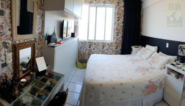 Vendo apartamento no Condomínio Lual de Ponta Negra 56m² 2/4 sendo uma suite, andar alto - Foto 8