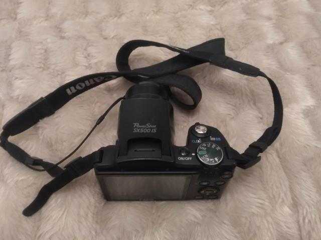 Máquina Canon SX 500IS - Foto 3