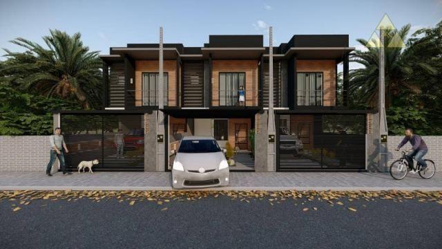 Sobrado com 3 dormitórios à venda, 112 m² por r$ 280.000,00 - itacolomi - balneário piçarr