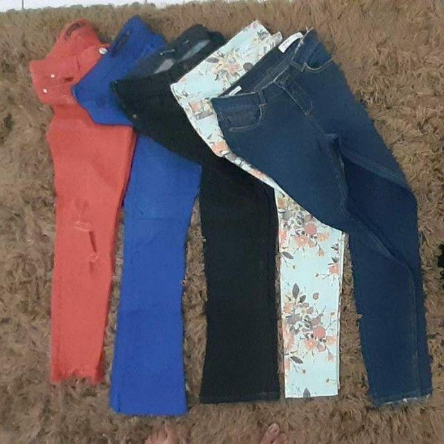 Calças jeans de Marcas Tam 36 - Foto 2