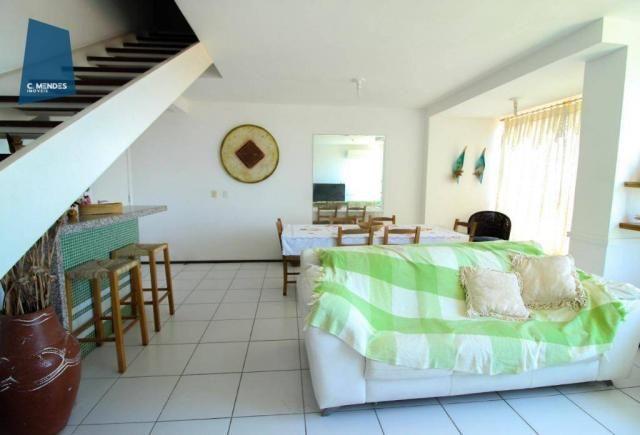 Apartamento Duplex com 5 dormitórios para alugar, 130 m² por R$ 4.500,00/mês - Mucuripe -  - Foto 5