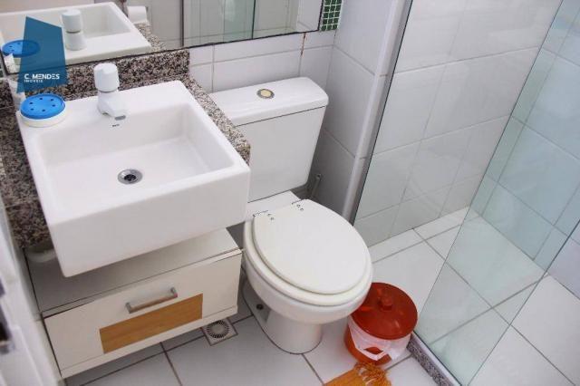Apartamento Duplex com 5 dormitórios para alugar, 130 m² por R$ 4.500,00/mês - Mucuripe -  - Foto 18