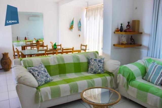Apartamento Duplex com 5 dormitórios para alugar, 130 m² por R$ 4.500,00/mês - Mucuripe -  - Foto 8
