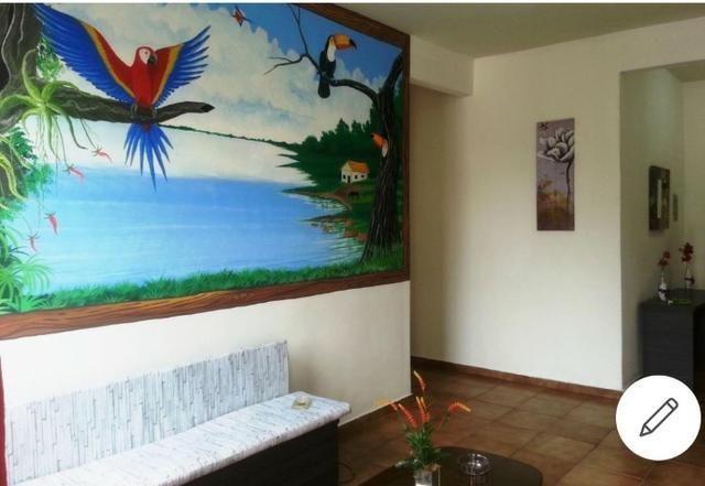 Apto. mobiliado próx à Sefaz, Manauara, Tj e Inpa com Pintura Regional - Foto 2