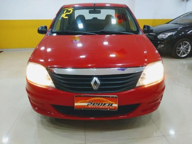 Renault Logan Authentic 1.0 2012 oportunidade