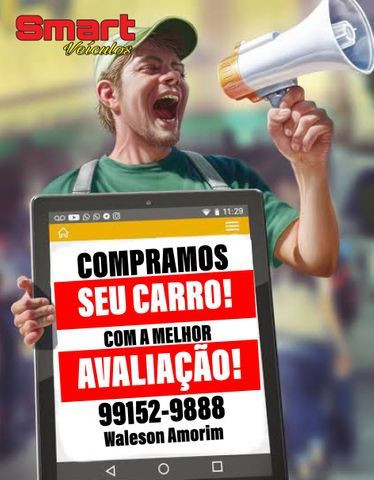 Smart Veículos - COMPRAMOS SEU CARRO 2017/18/19/20/21 - Foto 6