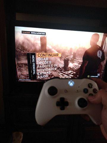 Xbox One 500Mb Semi-novo + 11 jogos e complementos - Foto 6