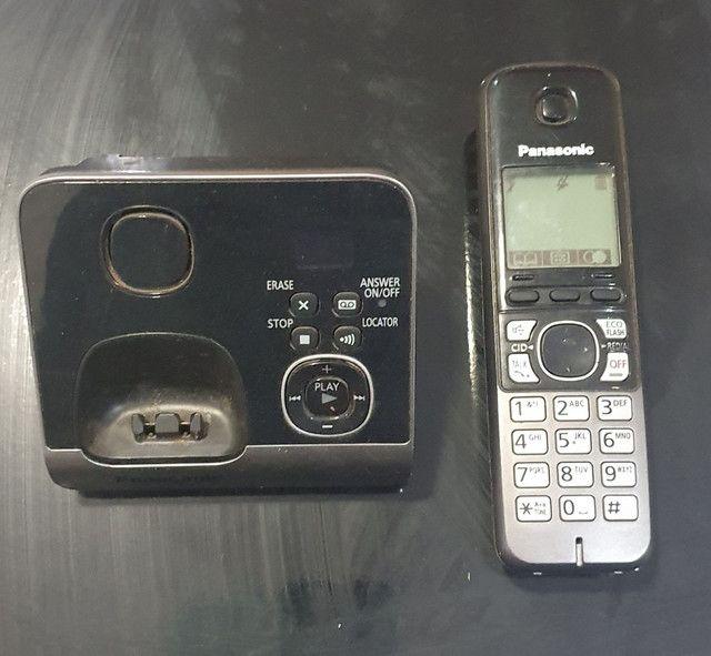 TELEFONE SEM FIO COM SECRETARIA ELETRÔNICA DIGITAL  - Foto 3