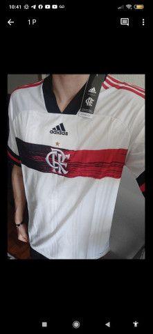 Camisa Flamengo II branca 2020 - Foto 3