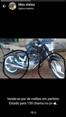 Par de rodão  para moto 150 cilindradas cor vc pode escolher
