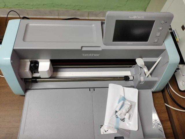 Maquina de corte SDX125 220v Brother semi nova