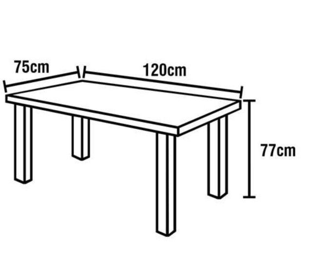 Mesa de granito 4 cadeiras preta - Foto 4