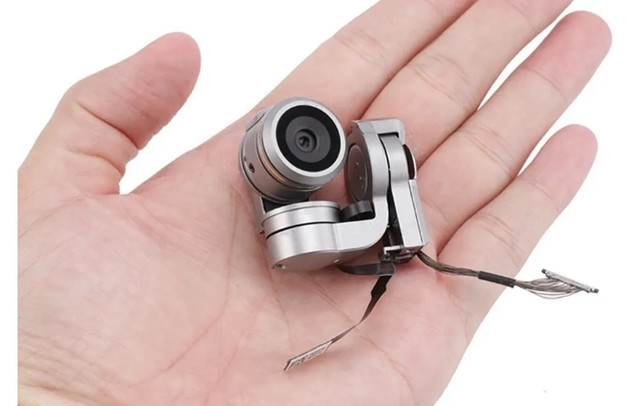 Camera + Gimbal + Cabos Dji Mavic Pro Ou Platium Sem Placa
