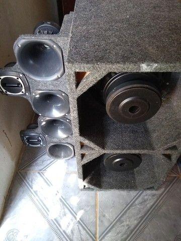 Vendo uma caixa de som semi nova - Foto 4