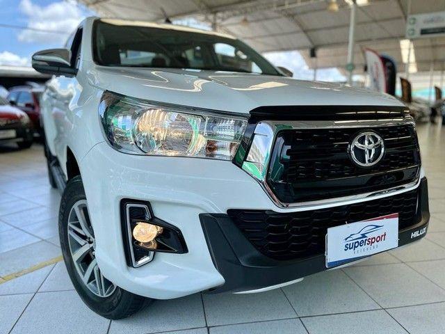 Toyota Hilux SRV 2020 4X4 Diesel - Foto 8