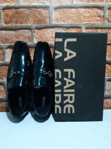Sapato La Faire Couro Top! (38, 40, 41, 42, 44) - Foto 2
