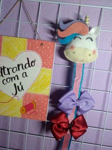 Porta Laços Unicórnio  - Foto 3