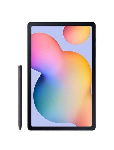 Tablet Samsung Tab S6 Lite, com capa, recém comprado.