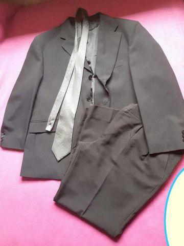 Terno masculino c/ gravata