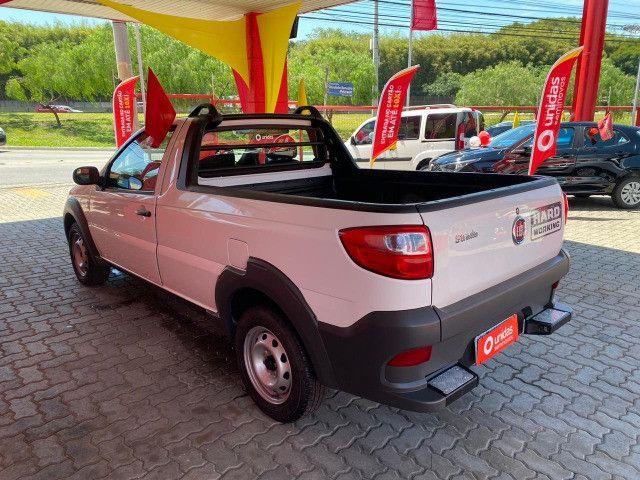 Fiat Strada CS Hard Working 1.4 Flex - 2020 - Completa (Ipva e transferência grátis) - Foto 2