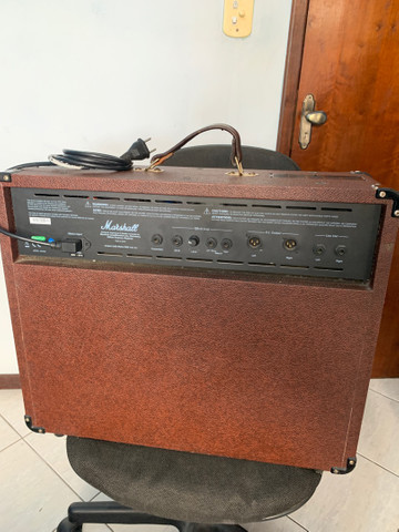 Amplificador Marshall Acoustic AS100D Combo 100W - Foto 4
