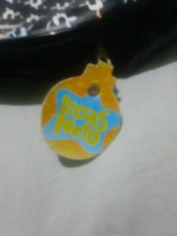 Bolsa do Lucas neto semi-nova - Foto 2