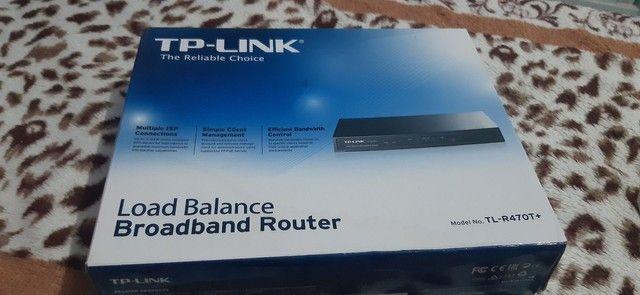 Roteador TP-LINK LOAD BALANCE TL-R470T+
