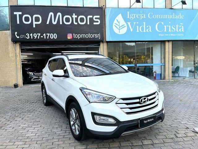 Hyundai Santa Fe ótimo estado 2015  - Foto 2