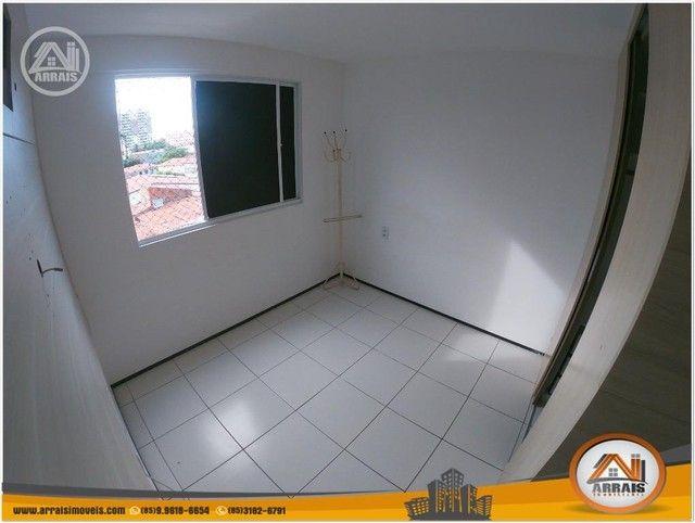 Apartamento com 3 dormitórios à venda, 64 m² por R$ 250.000 - Maraponga - Fortaleza/CE - Foto 13