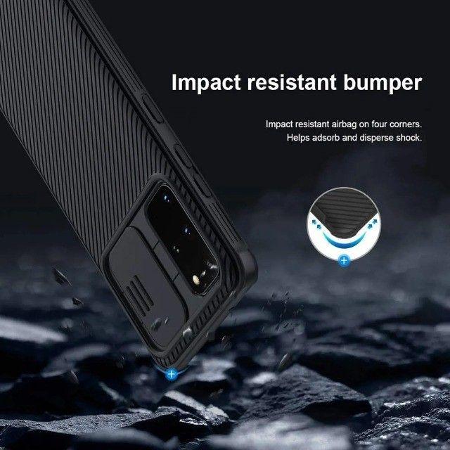Capa Nillkin Para Galaxy S20 Plus Com Proteção Para Câmeras - Foto 3