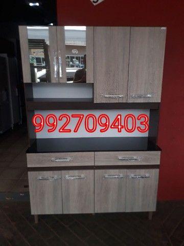 Armário de cozinha (1,32x1,84) Novo