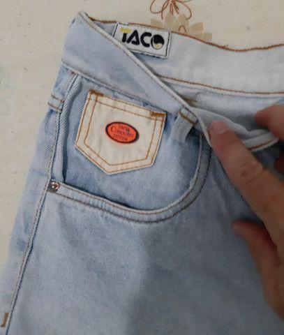 Bermuda jeans Taco tamanho 38 - Foto 3
