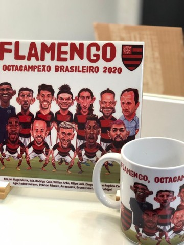 Kit caricatura Flamengo - Foto 5