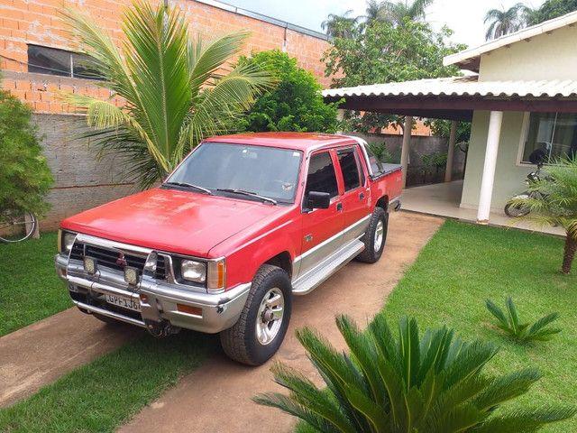 Vendo L200 Diesel turbo 1993 - Foto 4