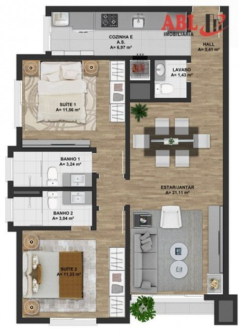 Apartamento Alto Padrão para Venda em Centro Gramado-RS - Foto 4