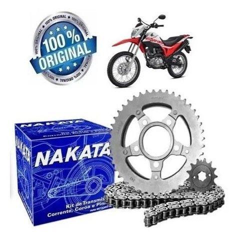 O melhor Kit de Transmissão Nakata Aço 1045 para a Bros 160 e XRE 190 - Foto 2