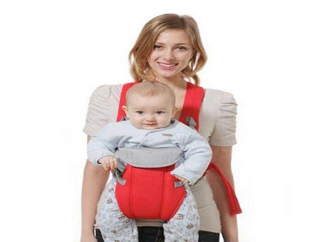 Suporte canguru para bebê 3-18 meses, bolsa transportadora canguru - Foto 4