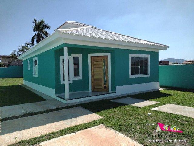 Lindíssima Casa, 3 dormitórios e Terreno Grande em Itaipuaçú!