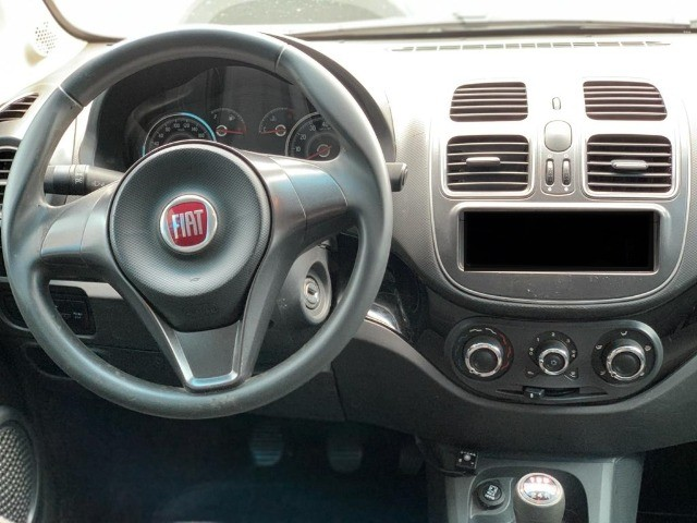 Fiat Grand Siena Attrative 1.4 EVO 2019 Completo com GNV!!! - Foto 5