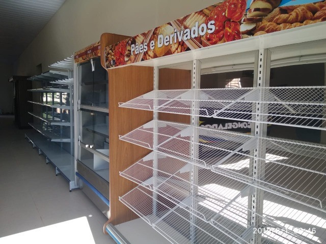 Vasca expositora de pães embalados 2m Polofrio Nova Frete Grátis - Foto 3