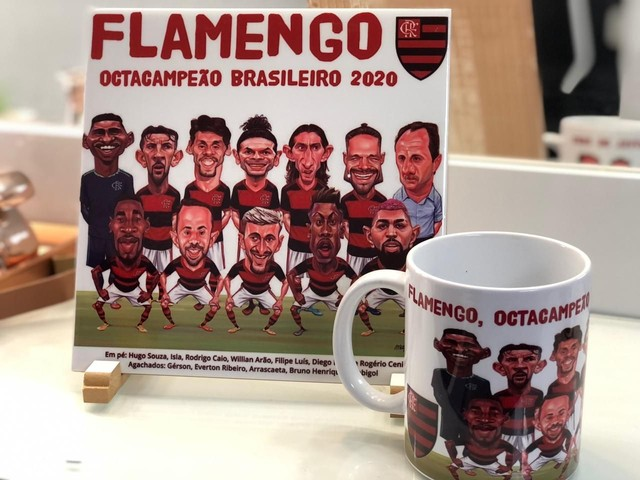 Kit caricatura Flamengo - Foto 6