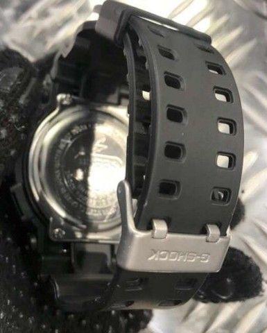 Relógio G-shock GA-100-BLACK  - Foto 3