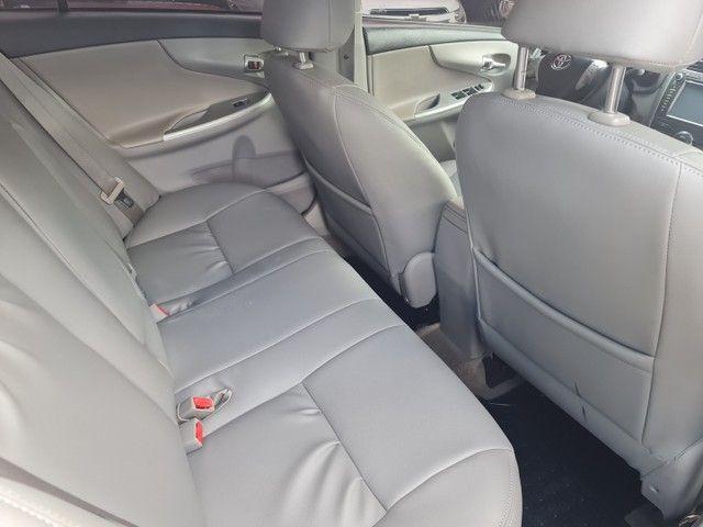 Toyota Corolla XEI ano 2012 automatico  - Foto 9